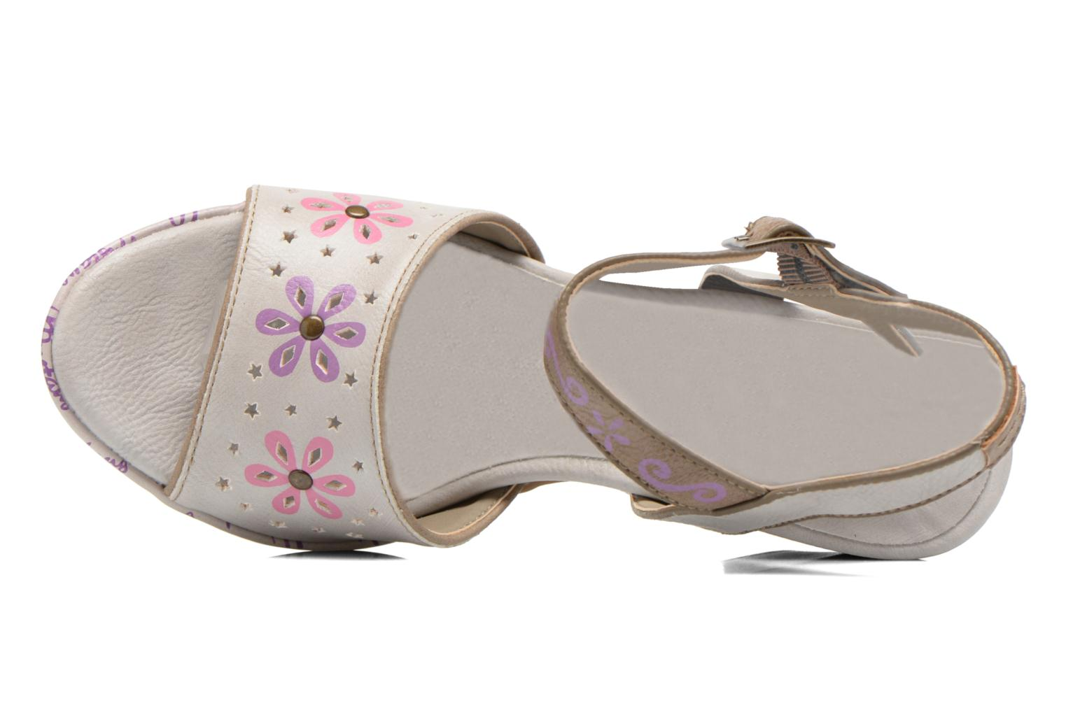 Sandals Mustang shoes Bilte Multicolor view from the left