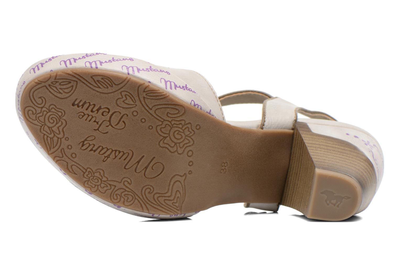 Sandalen Mustang shoes Bilte mehrfarbig ansicht von oben