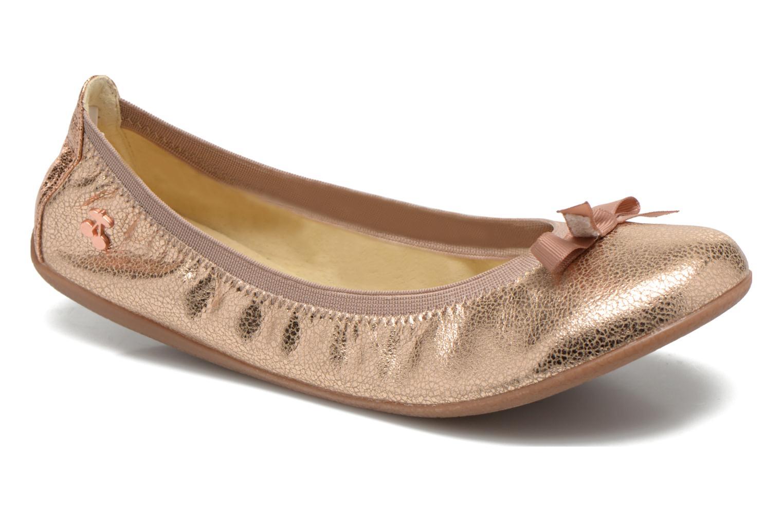 Bailarinas Le temps des cerises Lilou II Oro y bronce vista de detalle / par