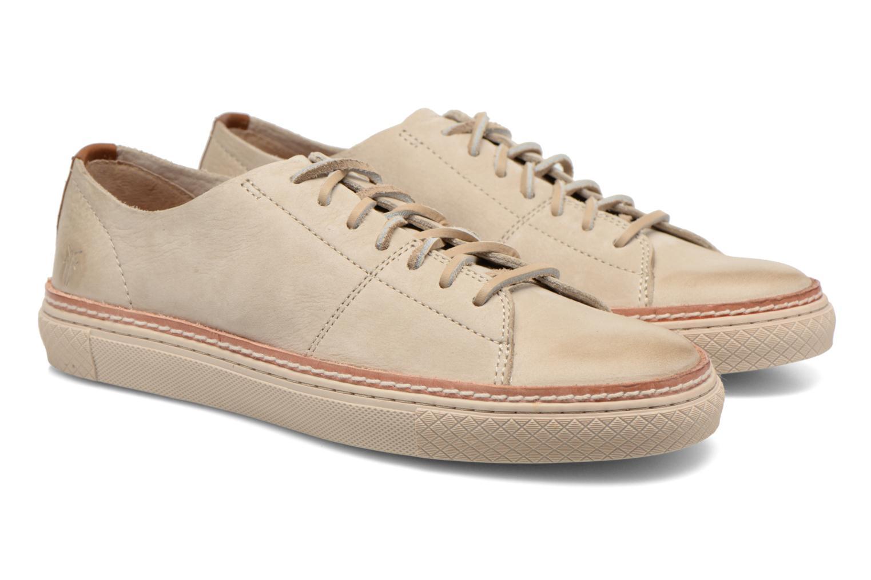 Sneakers Frye Gates Low Lace Beige 3/4 bild