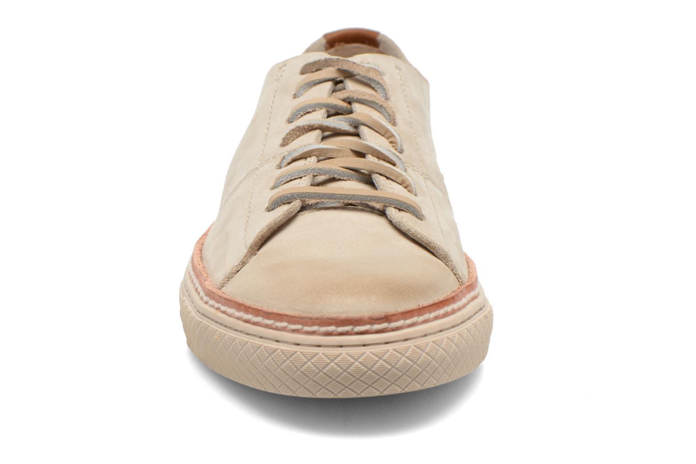 Sneakers Frye Gates Low Lace Beige bild av skorna på