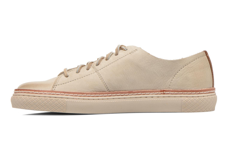 Sneakers Frye Gates Low Lace Beige bild från framsidan