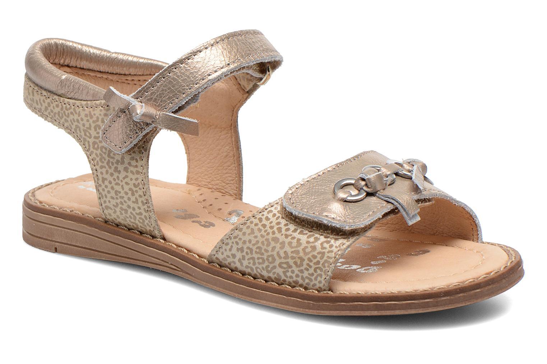 Sandales et nu-pieds Babybotte Koxinel Or et bronze vue détail/paire