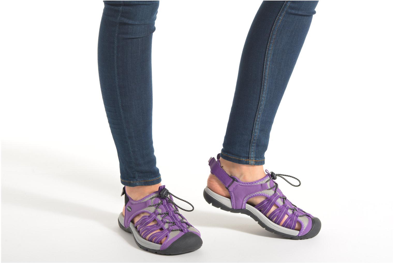 Chaussures de sport Trespass Facet Violet vue bas / vue portée sac