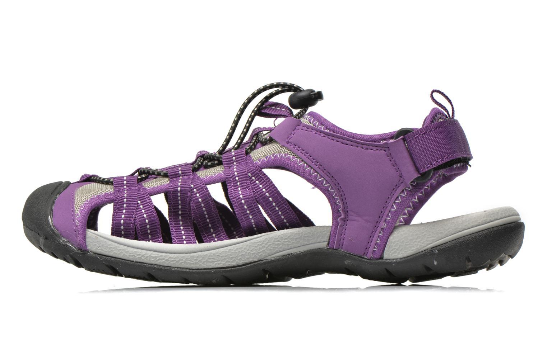 Zapatillas de deporte Trespass Facet Violeta      vista de frente