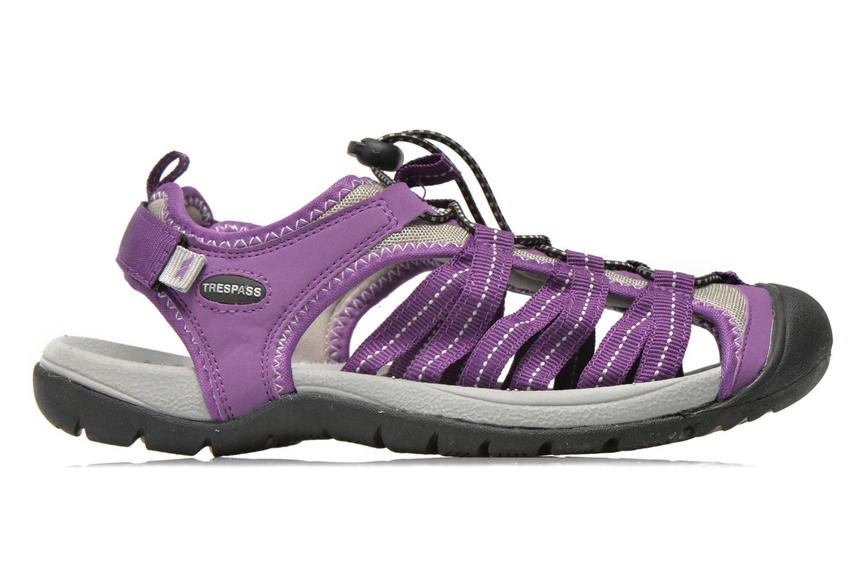 Chaussures de sport Trespass Facet Violet vue derrière
