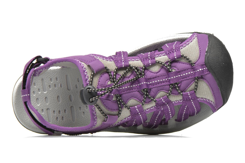 Zapatillas de deporte Trespass Facet Violeta      vista lateral izquierda