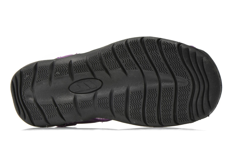 Chaussures de sport Trespass Facet Violet vue haut