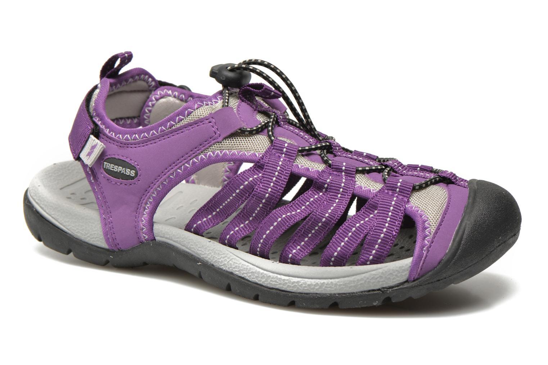 Chaussures de sport Trespass Facet Violet vue détail/paire