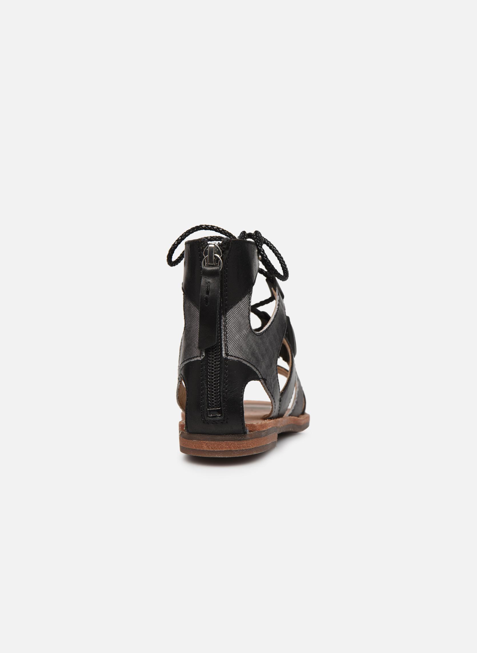 Sandales et nu-pieds Geox D SOZY P D622CP Noir vue droite