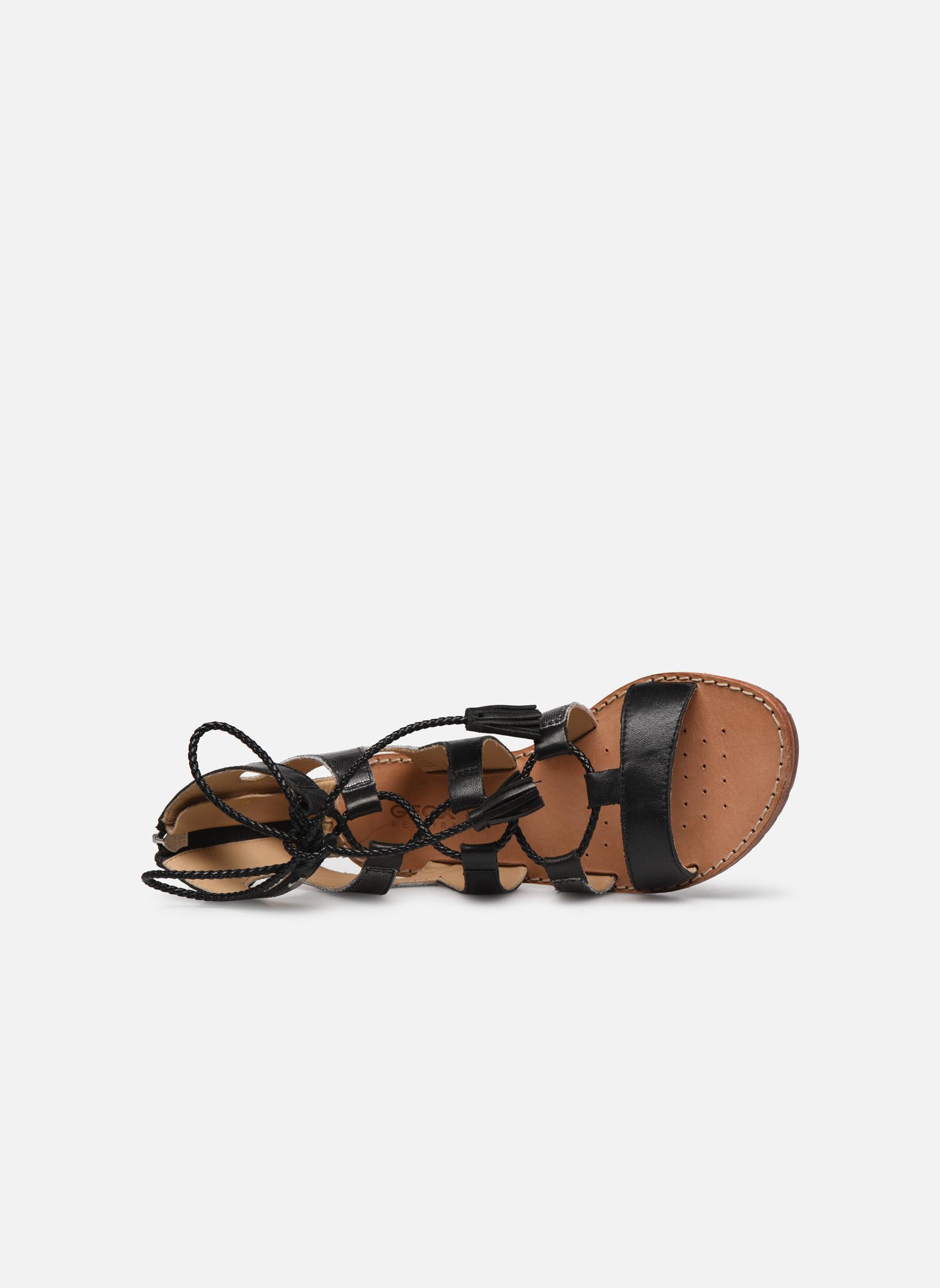 Sandales et nu-pieds Geox D SOZY P D622CP Noir vue gauche