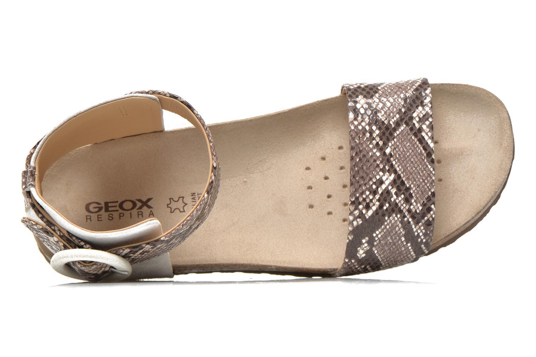 Sandales et nu-pieds Geox D ZAYNA E D622BE Gris vue gauche