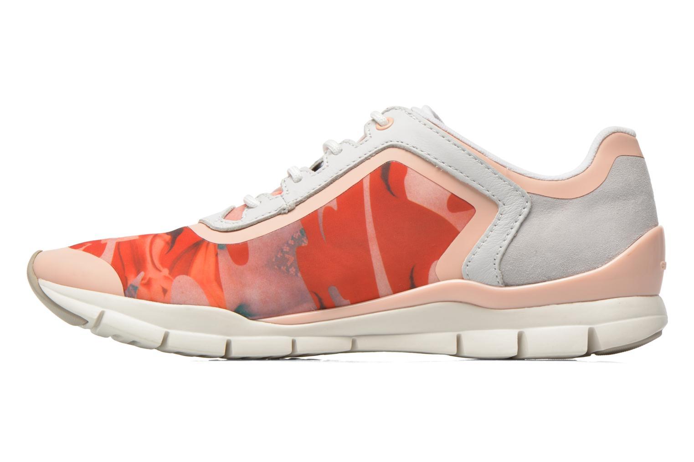 Sneaker Geox D SUKIE E D62F2E mehrfarbig ansicht von vorne