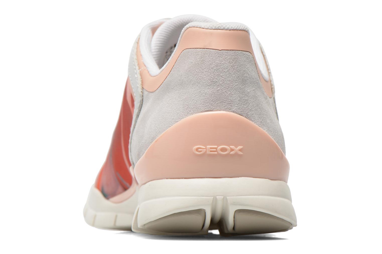 Sneakers Geox D SUKIE E D62F2E Multicolore immagine destra