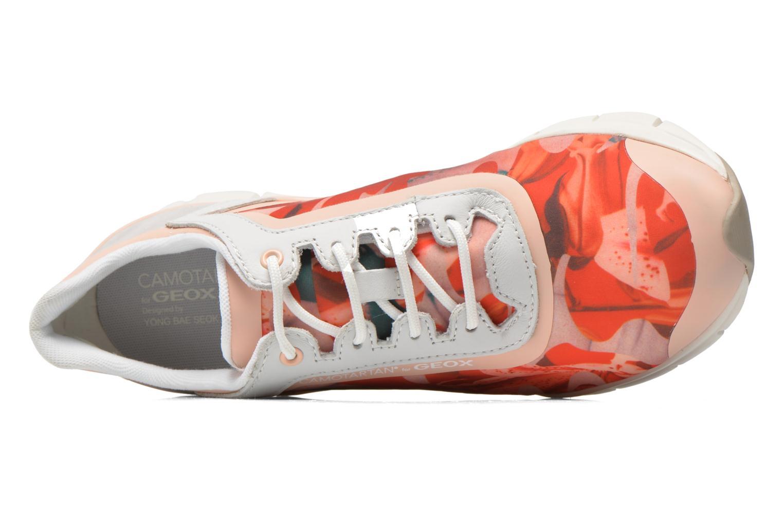 Sneaker Geox D SUKIE E D62F2E mehrfarbig ansicht von links