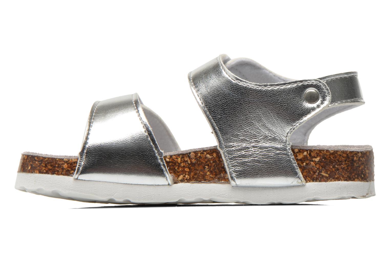 Sandales et nu-pieds Colors of California Bio Laminated Sandals Argent vue face