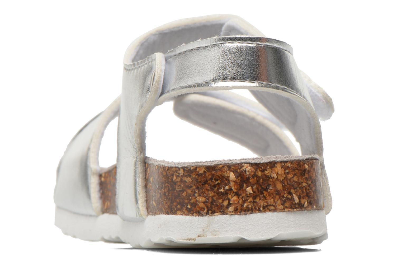 Sandales et nu-pieds Colors of California Bio Laminated Sandals Argent vue droite
