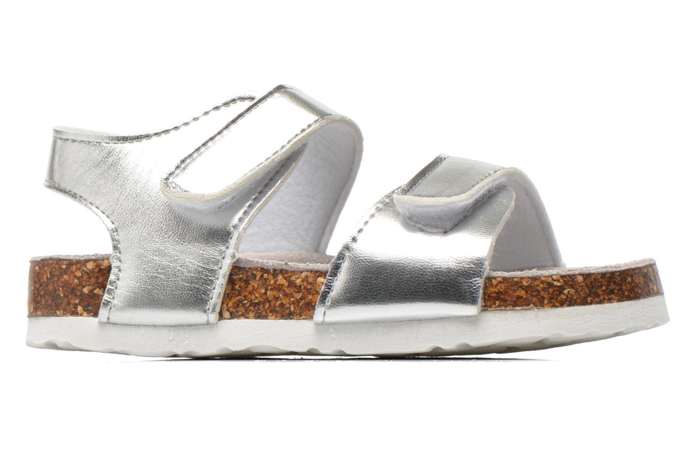 Sandalen Colors of California Bio Laminated Sandals silber ansicht von hinten