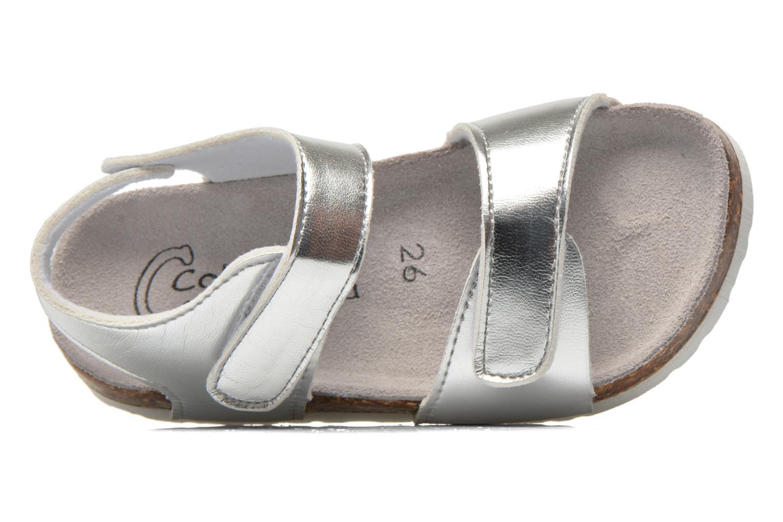 Sandalen Colors of California Bio Laminated Sandals silber ansicht von links