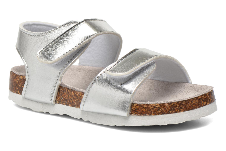 Sandales et nu-pieds Colors of California Bio Laminated Sandals Argent vue détail/paire