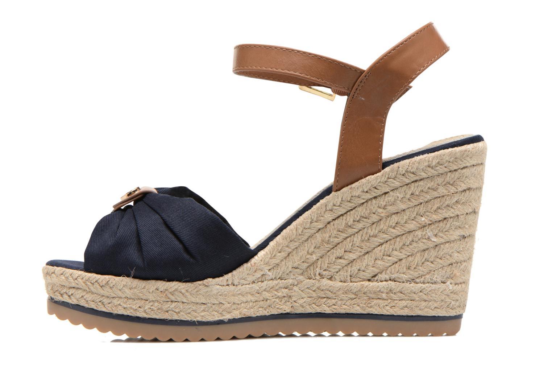 Sandales et nu-pieds Tom Tailor Lou Bleu vue face