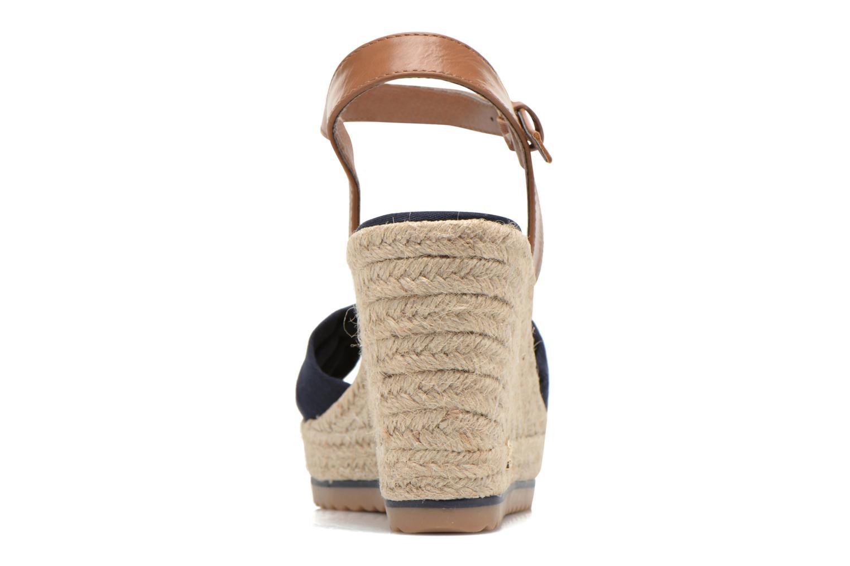Sandales et nu-pieds Tom Tailor Lou Bleu vue droite