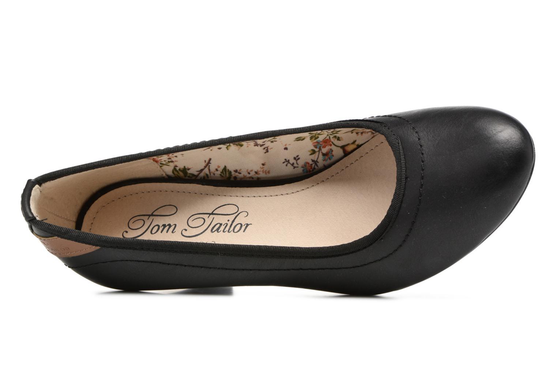 Escarpins Tom Tailor Tali Noir vue gauche