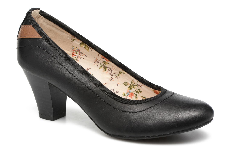 Høje hæle Tom Tailor Tali Sort detaljeret billede af skoene