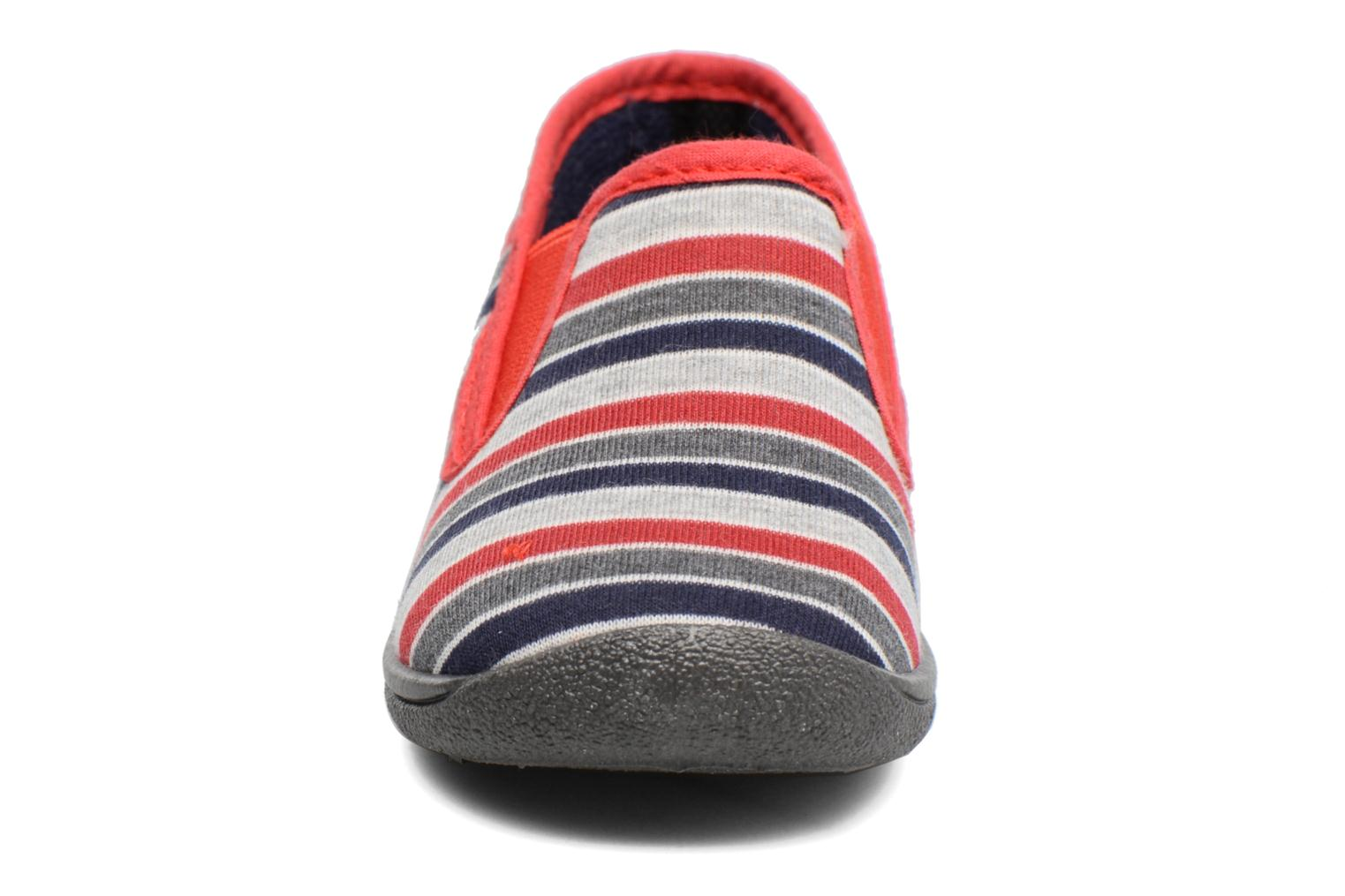 Chaussons Rondinaud Jimmy Gris vue portées chaussures