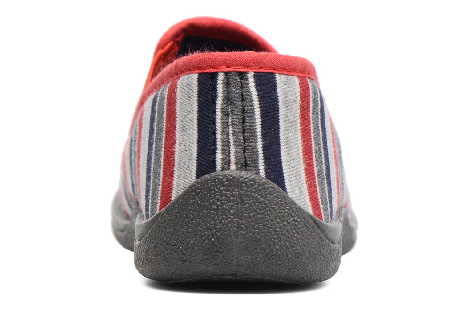Chaussons Rondinaud Jimmy Gris vue droite