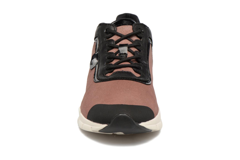 Baskets Geox D SUKIE B D62F2B Rose vue portées chaussures