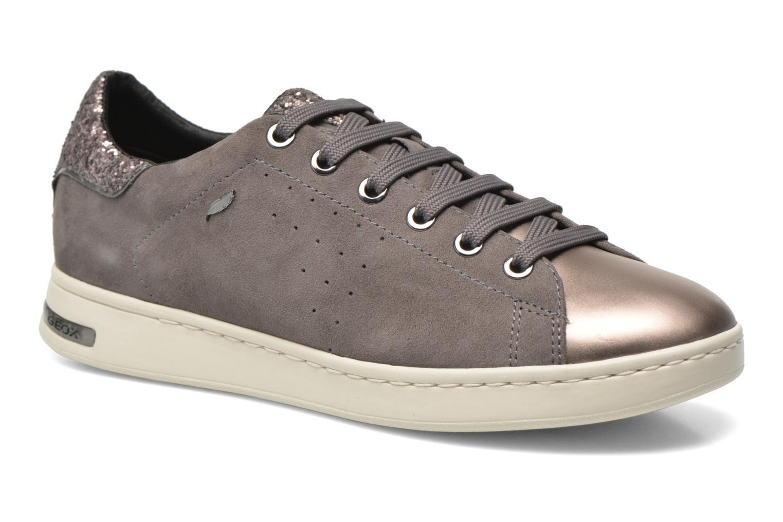 cuir lisse Geox Chaussures D JAYSEN Geox Exton Sneakers Femmes 1923 Noir Havane wJCwfFf
