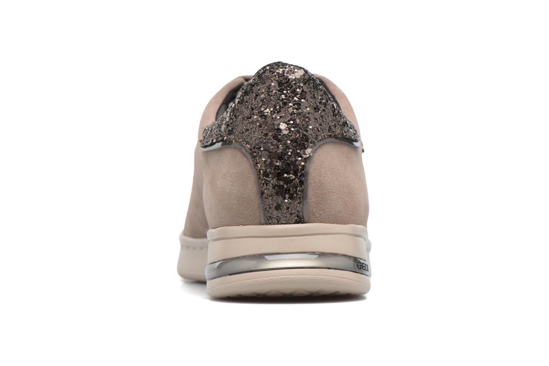 Sneakers Geox D JAYSEN A D621BA Bruin rechts