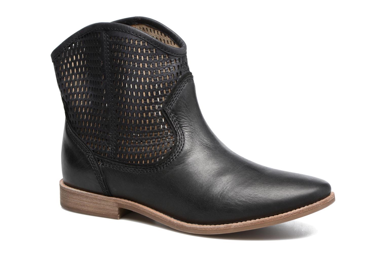 Zapatos promocionales Geox D ELIXIR E D62C7E (Negro) - Botines    Venta de liquidación de temporada
