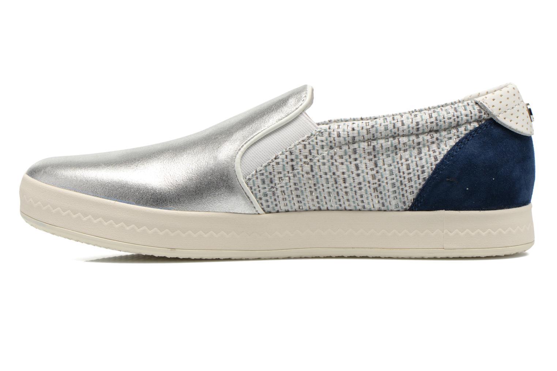 Sneakers Geox D MODESTY C D4429C Zilver voorkant