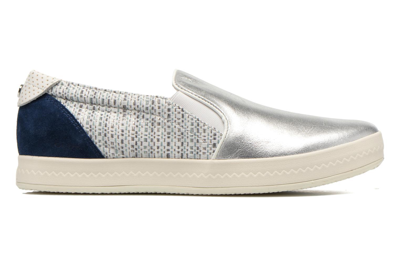 Sneakers Geox D MODESTY C D4429C Zilver achterkant