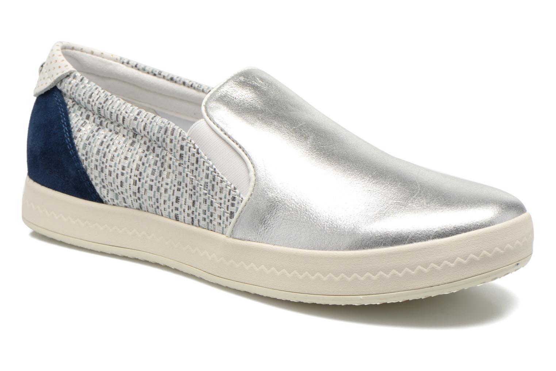 Sneakers Geox D MODESTY C D4429C Zilver detail