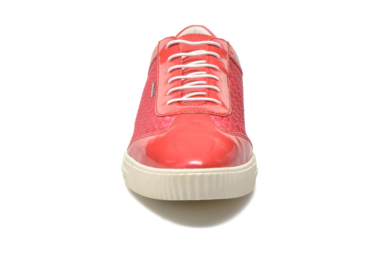 Baskets Geox D AMALTHIA B D621MB Rose vue portées chaussures