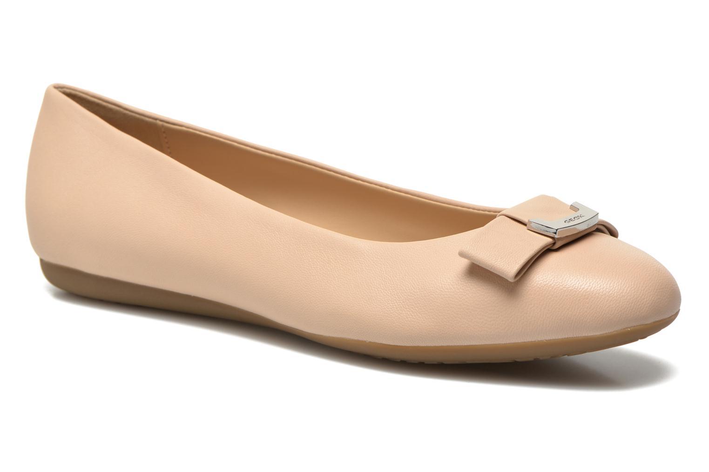 Zapatos casuales salvajes Geox D LOLA A D54M4A (Beige) - Bailarinas en Más cómodo