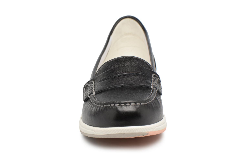 Mocassins Geox D AVERY C D62H5C Noir vue portées chaussures