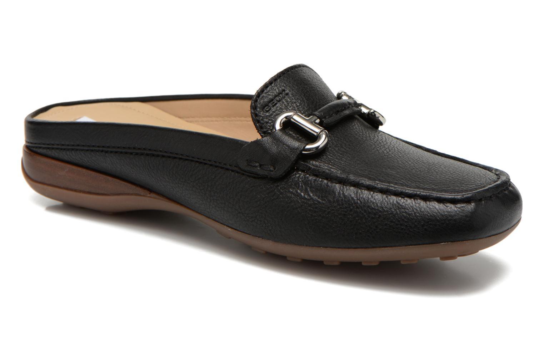 Zapatos promocionales Geox D EURO C D6245C (Negro) - Zuecos   Los últimos zapatos de descuento para hombres y mujeres