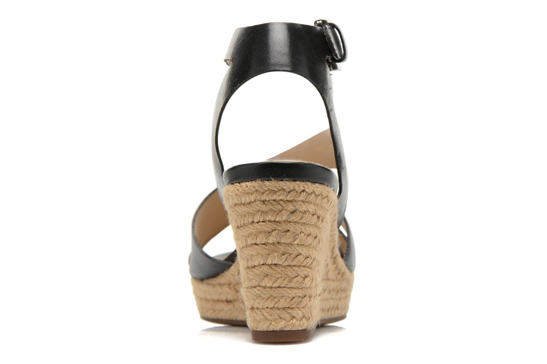 Sandales et nu-pieds Geox D SOLEIL C D62N7C Noir vue droite