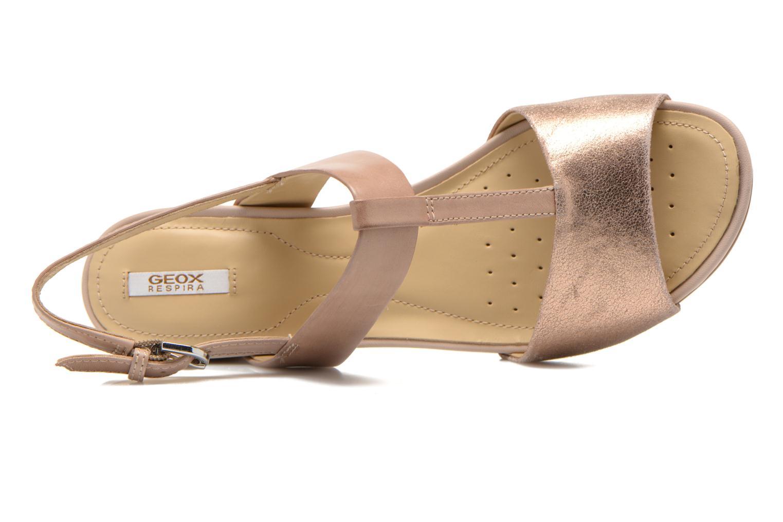 Sandales et nu-pieds Geox D SYMI B D6273B Beige vue gauche