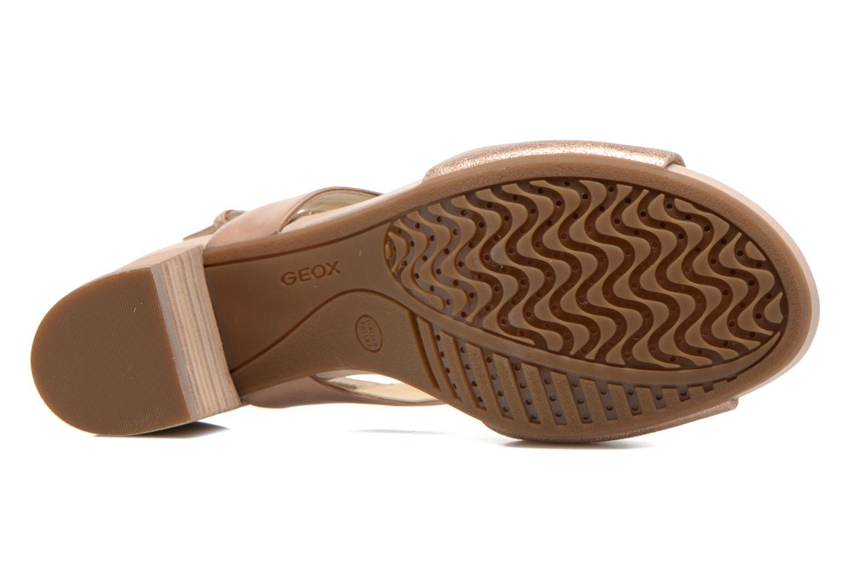 Sandales et nu-pieds Geox D SYMI B D6273B Beige vue haut