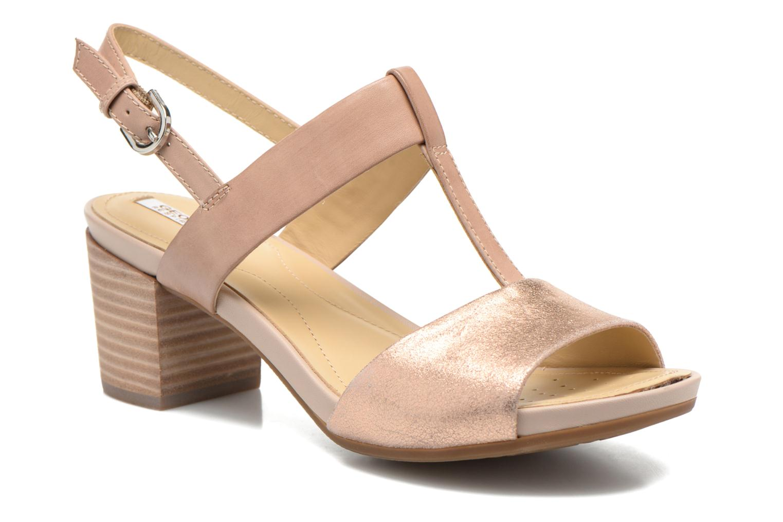 Sandales et nu-pieds Geox D SYMI B D6273B Beige vue détail/paire