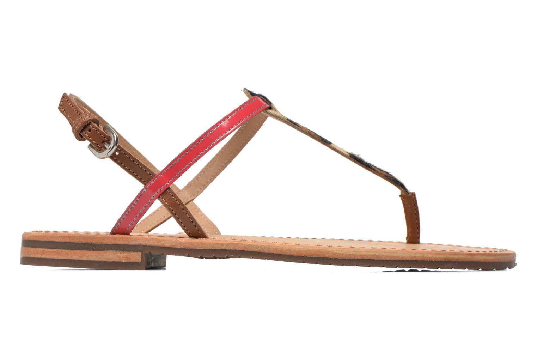 Sandalen Geox D SOZY F D622CF mehrfarbig ansicht von hinten