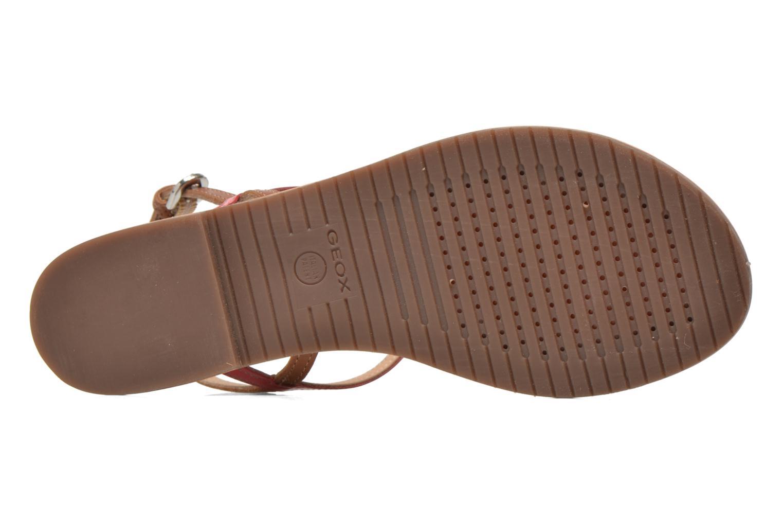 Sandalen Geox D SOZY F D622CF mehrfarbig ansicht von oben