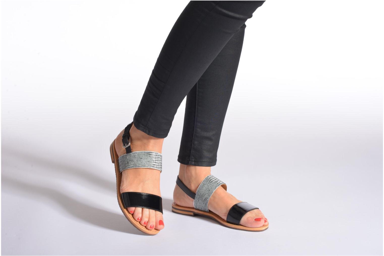Sandalen Geox D SOZY A D622CA mehrfarbig ansicht von unten / tasche getragen