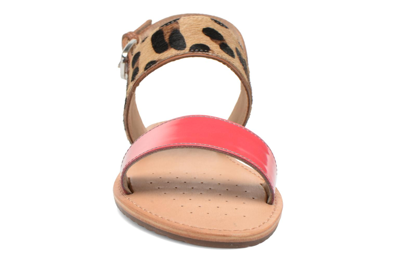 Sandalen Geox D SOZY A D622CA mehrfarbig schuhe getragen