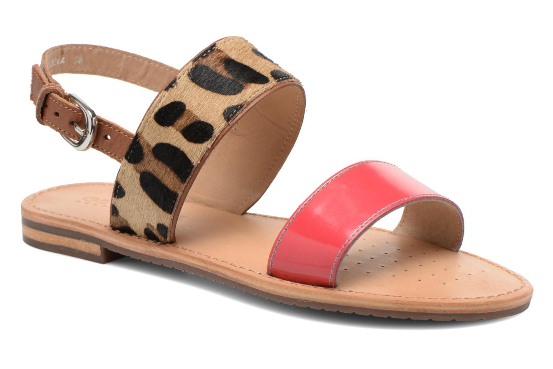Donna Geox D Sozy A D622ca Sandali E Scarpe Aperte Multicolore Taglia 36